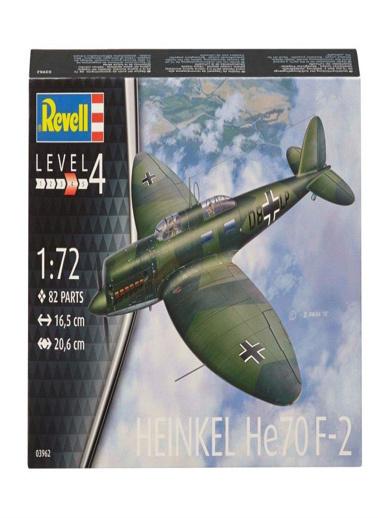 Revell Revell Maket 1:72 Heinkel HE70 Renkli